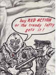 """Buy RED ACTION or the trendy lefty gets it!"""