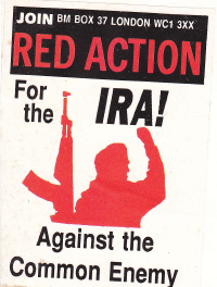 Red Action Sticker
